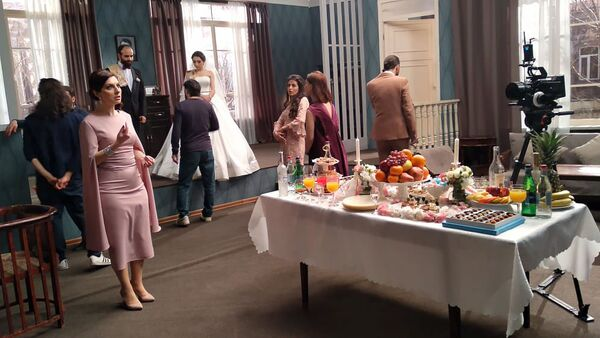 Съемки фильма Свадьба в тылу - Sputnik Արմենիա