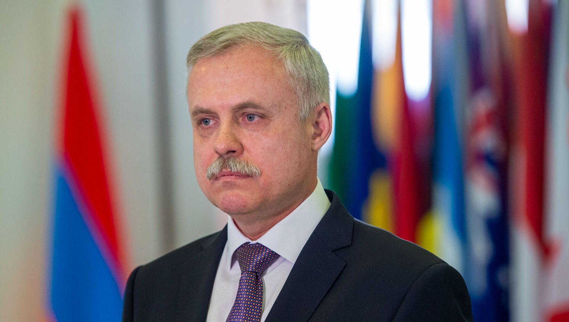 Генеральный секретарь ОДКБ Станислав Зась - Sputnik Армения, 1920, 30.04.2021