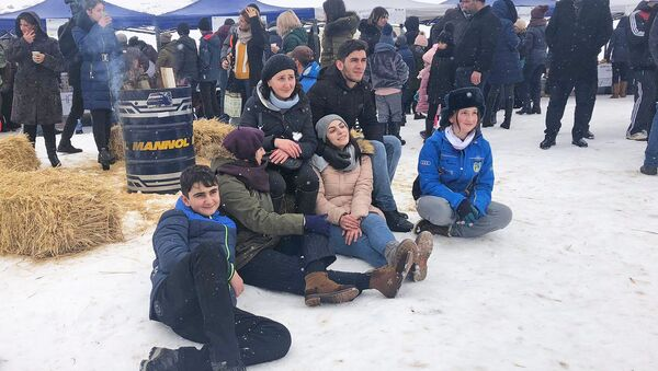 Традиционный зимний фестиваль Зима Ширака (29 февраля 2020). Ашоцк - Sputnik Армения