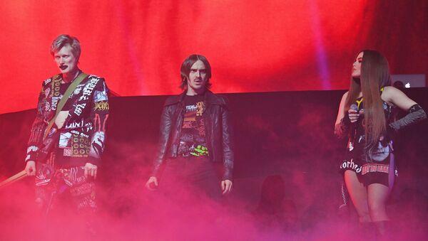 Участники группы Little Big во время концерта (20 декабря 2019). Москвa - Sputnik Армения