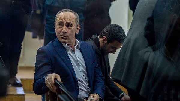 Роберт Кочарян на судебном заседании по делу 1 марта (3 марта 2020). Еревaн - Sputnik Արմենիա