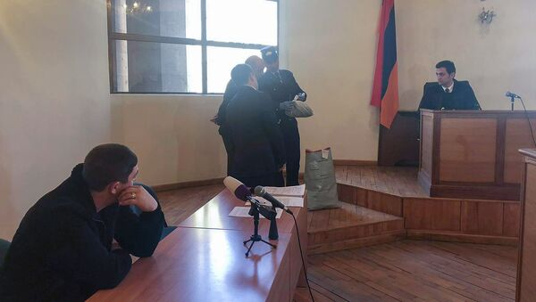 Судебное заседание по делу убийства ребенка (3 марта 2020). Гюмри - Sputnik Արմենիա