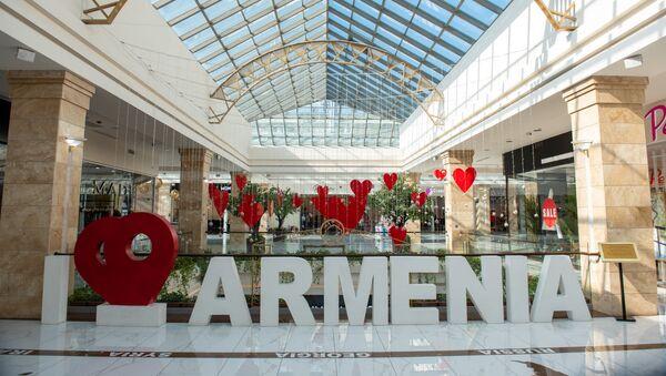 Декорации в ТЦ Mega Mall - Sputnik Армения