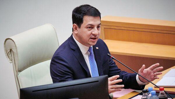 Председатель парламента Грузии Арчил Талаквадзе - Sputnik Արմենիա