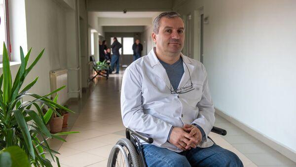Заведующий отделением реанимации и интенсивной терапии МЦ Норк-Мараш Ара Ананян - Sputnik Армения