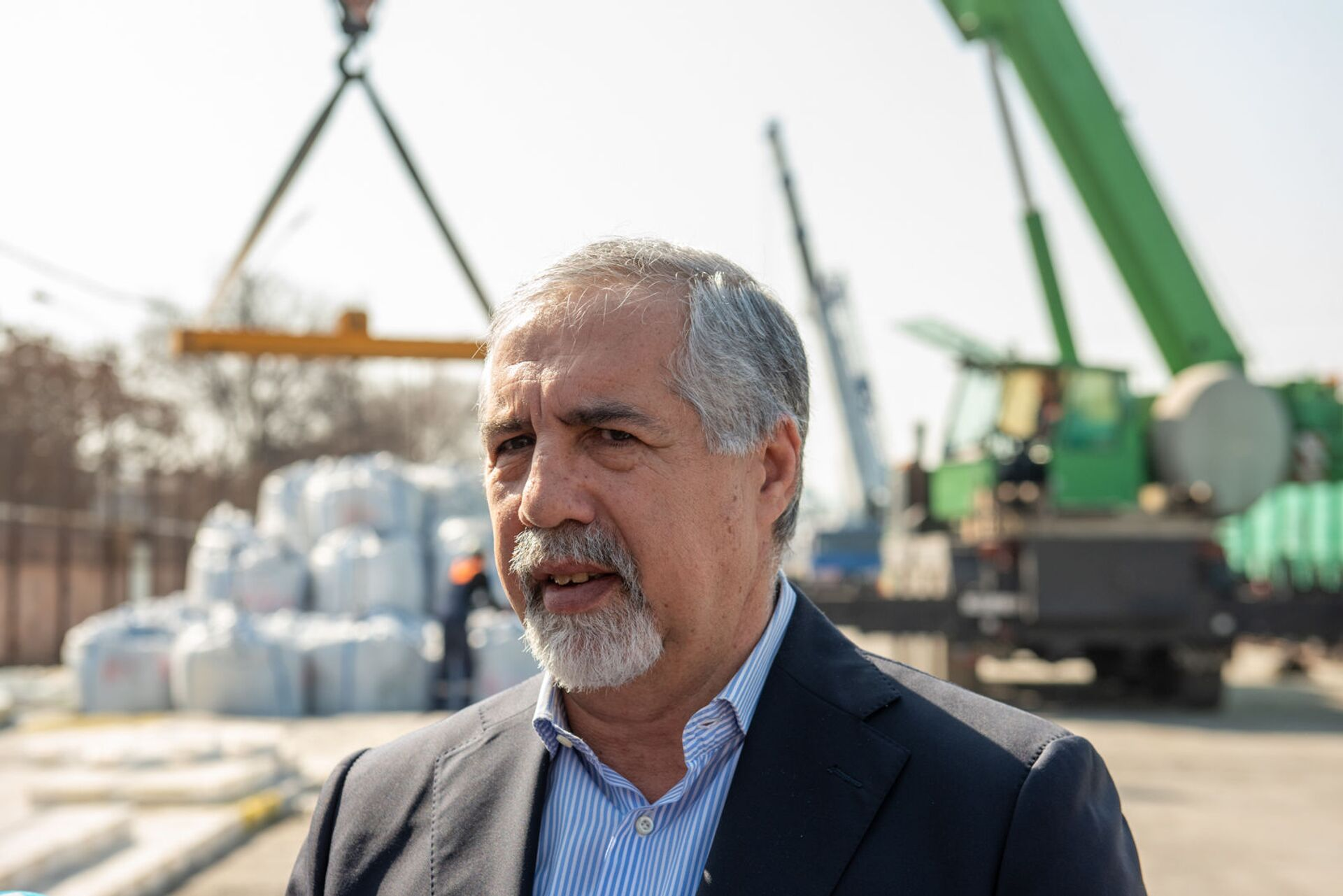 Гагик Агаджанян, руководитель грузоперевозочной компании Апавен (9 марта 2020). Еревaн - Sputnik Армения, 1920, 18.09.2021
