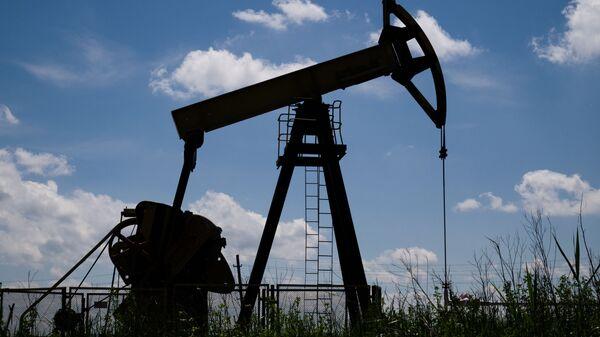 Нефтяной станок-качалка в Северском районе Краснодарского края. - Sputnik Армения