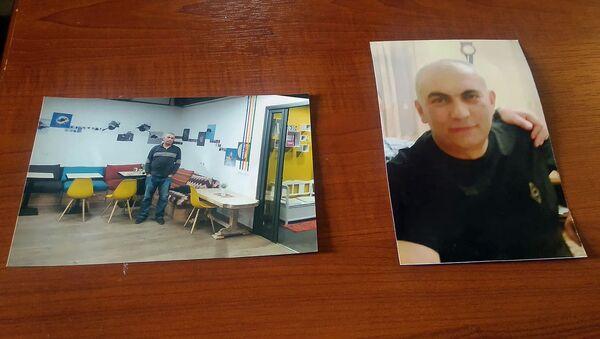 Фотографии избитого в Ехегнадзоре подполковника Ара Мхитаряна во время пресс-конференции (13 марта 2020). Гюмри - Sputnik Արմենիա