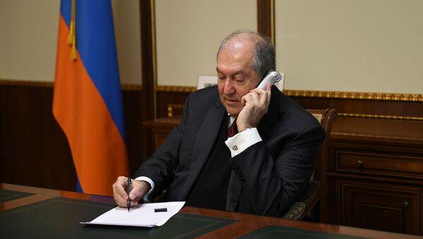 Президент Армен Саркисян провел телефонный разговор - Sputnik Արմենիա