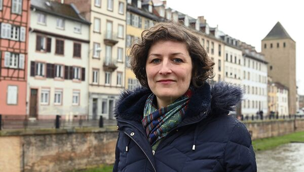 Кандидат в мэры Страсбурга Жанна Барсегян из партии зеленых Europe Ecologie les Verts (EELV) - Sputnik Արմենիա