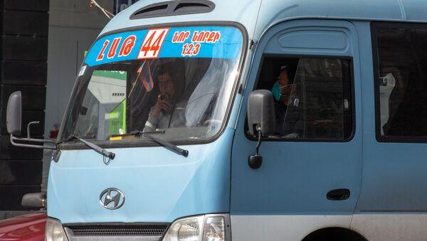 Водитель автобуса в Ереване - Sputnik Армения