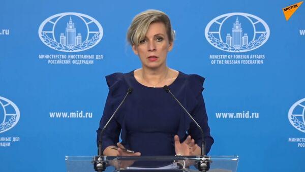 Еженедельный брифинг Марии Захаровой - Sputnik Армения