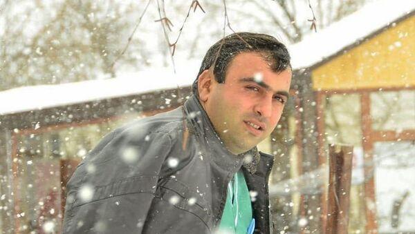 Один из работающих в гостинице Golden Palace добровольцев-врачей Аргам Ованнисян - Sputnik Արմենիա
