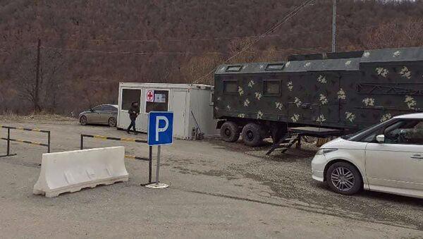 Медицинский пункт на границе Армении и Карабаха - Sputnik Արմենիա