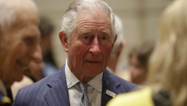 Британский принц Чарльз во время приема (11 марта 2020). - Sputnik Армения