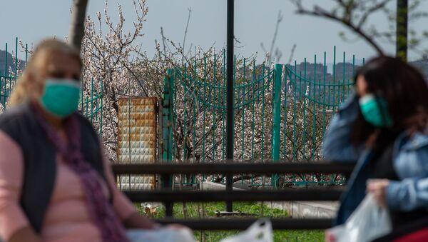 Город во время чрезвычайной ситуации (25 марта 2020). Ереван - Sputnik Արմենիա