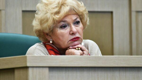 Член Совета Федерации РФ Людмила Нарусова - Sputnik Армения
