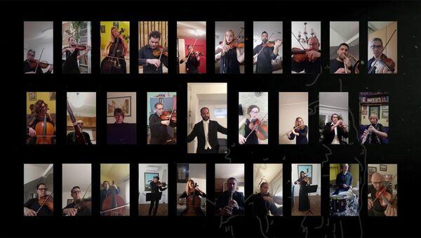 Музыканты сербского нацтеатра исполнили Bella Ciao в режиме самоизоляции - Sputnik Արմենիա