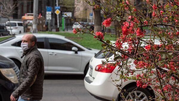 Весенняя ереванская улица - Sputnik Армения