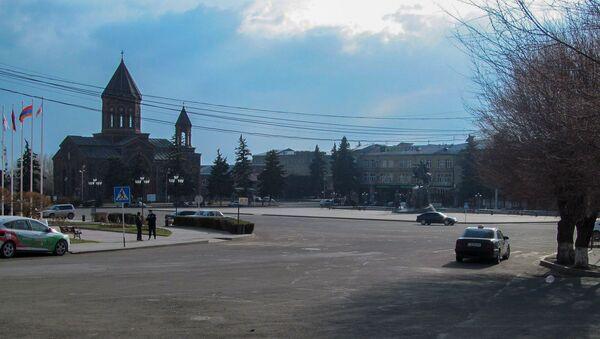 Площадь Вардананц Гюмри - Sputnik Արմենիա