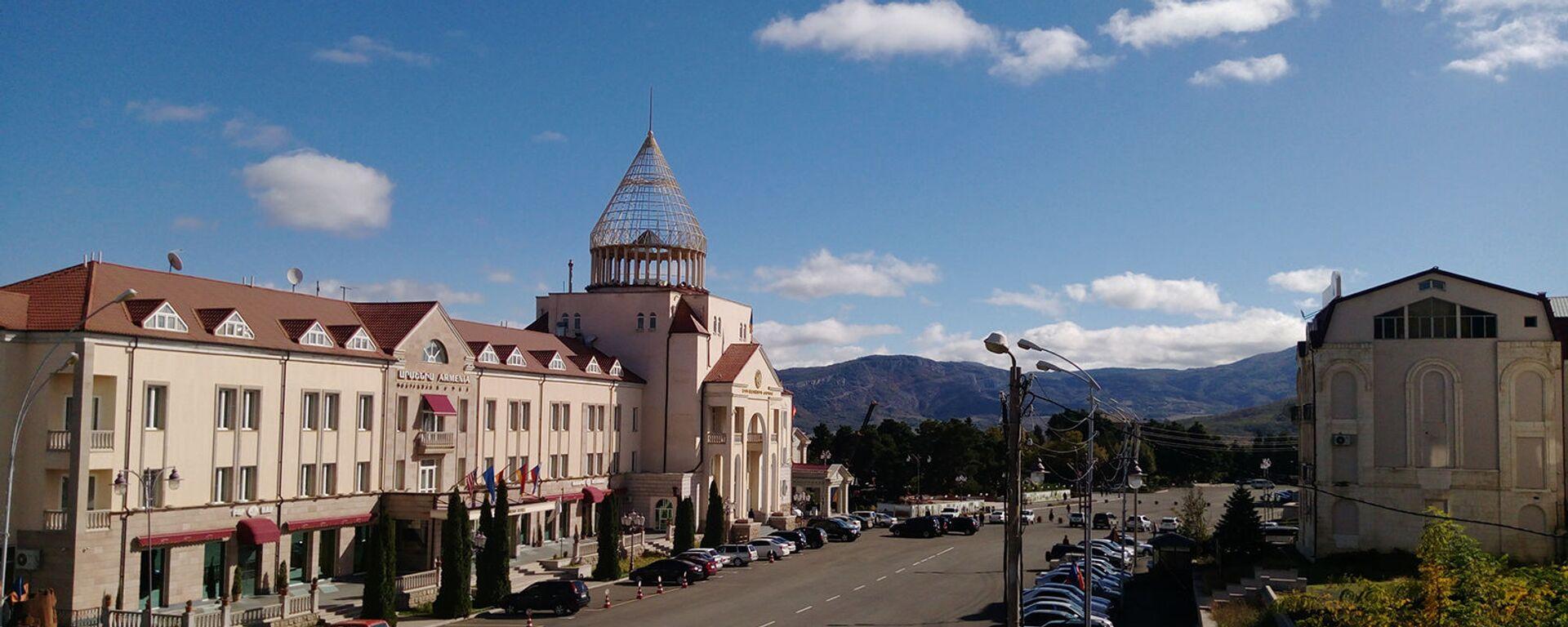 Здание парламента Карабаха - Sputnik Արմենիա, 1920, 09.06.2021