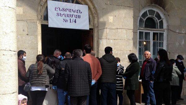 Парламентские и президентские выборы в Карабахе (31 марта 2020). - Sputnik Армения