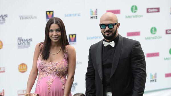 Хип-хоп исполнитель Джиган с супругой Оксаной Самойловой  - Sputnik Արմենիա
