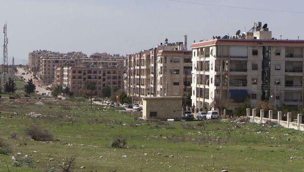 Район Эль-Хамдания на окраине города Алеппо - Sputnik Արմենիա
