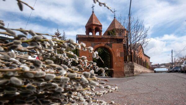 Церковь Святой Богородицы Катогике в Джрвеже - Sputnik Армения
