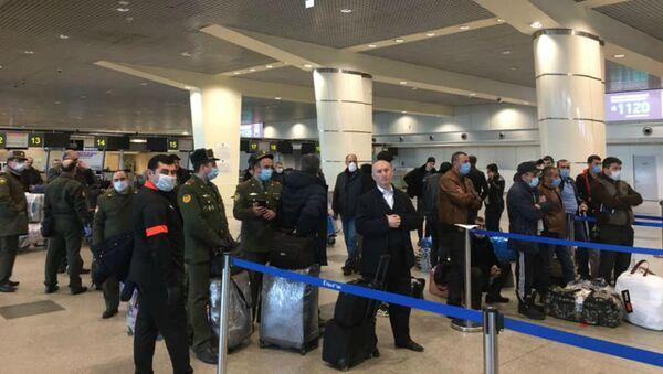 Международный аэропорт Домодедово (6 апреля 2020). Москва - Sputnik Армения