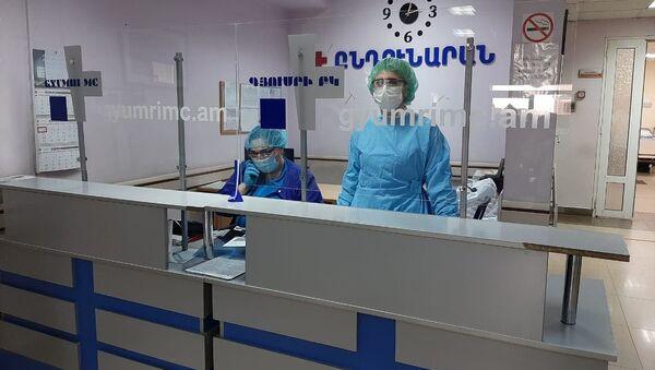 Медицинский центр Гюмри (6 апреля 2020). Гюмри - Sputnik Արմենիա