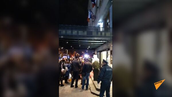 Пассажиров спецрейса Москва-Ереван разместили в ереванской гостинице - Sputnik Армения