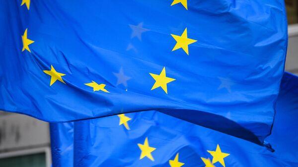 Флаги с символикой Евросоюза - Sputnik Армения