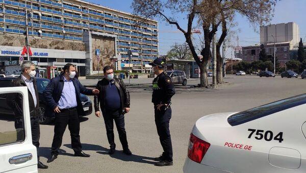 Грузия предоставила транзитный коридор для гражданам Армении (10 апреля 2020). Тбилиси - Sputnik Армения