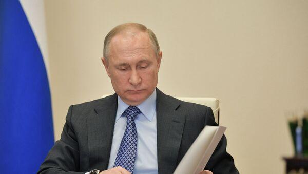 Президент России Владимир Путин - Sputnik Արմենիա