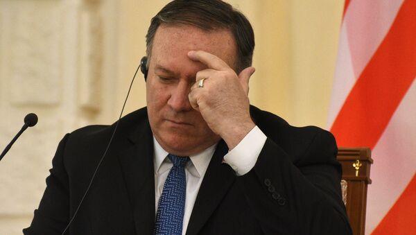 Госсекретарь США Майк Помпео - Sputnik Армения