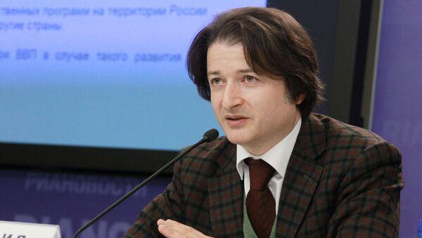 Генеральный директор российской ассоциации производителей чая и кофе РОСЧАЙКОФЕ Рамаз Чантурия - Sputnik Армения