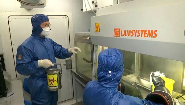 Российская полевая биолаборатория начала работу в Италии - Sputnik Армения