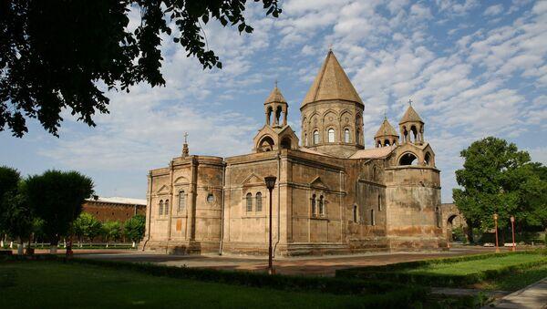 Эчмиадзинский монастырь - Sputnik Արմենիա