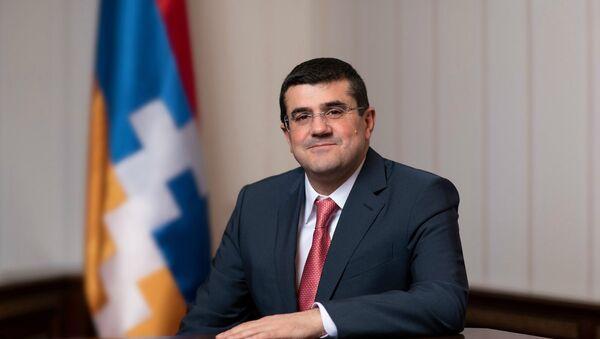 Президент Карабаха Араик Арутюнян - Sputnik Армения