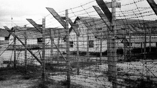Финский концентрационный лагерь в городе Медвежьегорске. - Sputnik Արմենիա