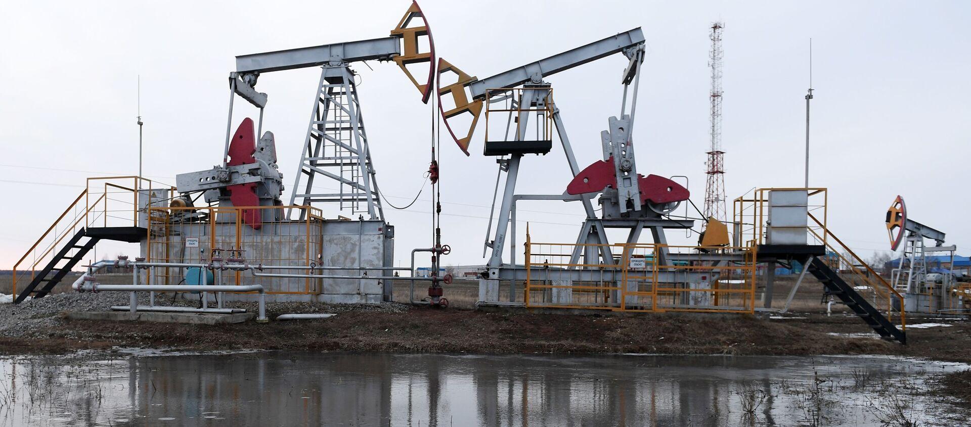 Нефтяные качалки - Sputnik Армения, 1920, 31.03.2021