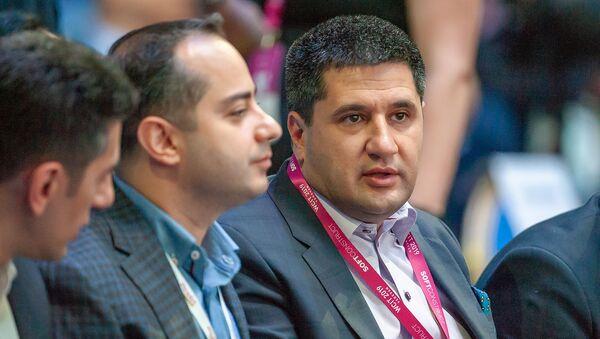 Айк Есаян на форуме WCIT (7 октября 2020). Еревaн - Sputnik Արմենիա