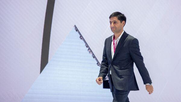 Приветственная речь Александра Есаяна во время церемонии открытия WCIT-2019 (7 октября 2019). Еревaн - Sputnik Армения