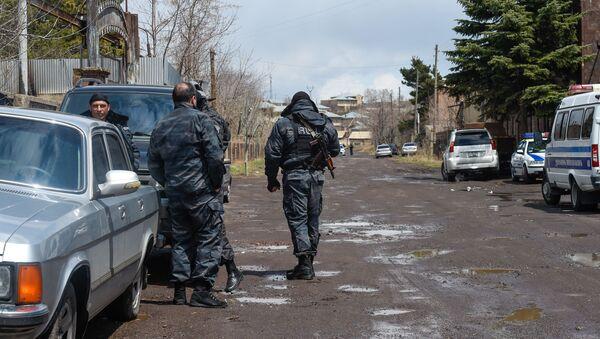 Полицейские на месте преступления (29 апреля 2020). Гавар - Sputnik Армения