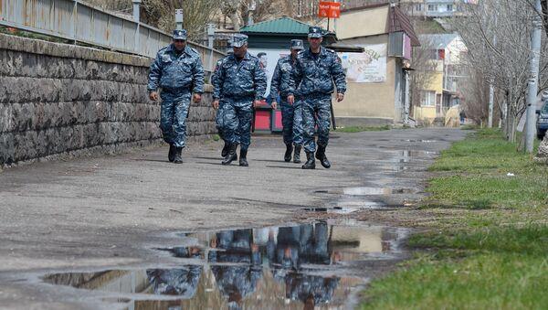 Полицейские на месте преступления (29 апреля 2020). Гавар - Sputnik Արմենիա