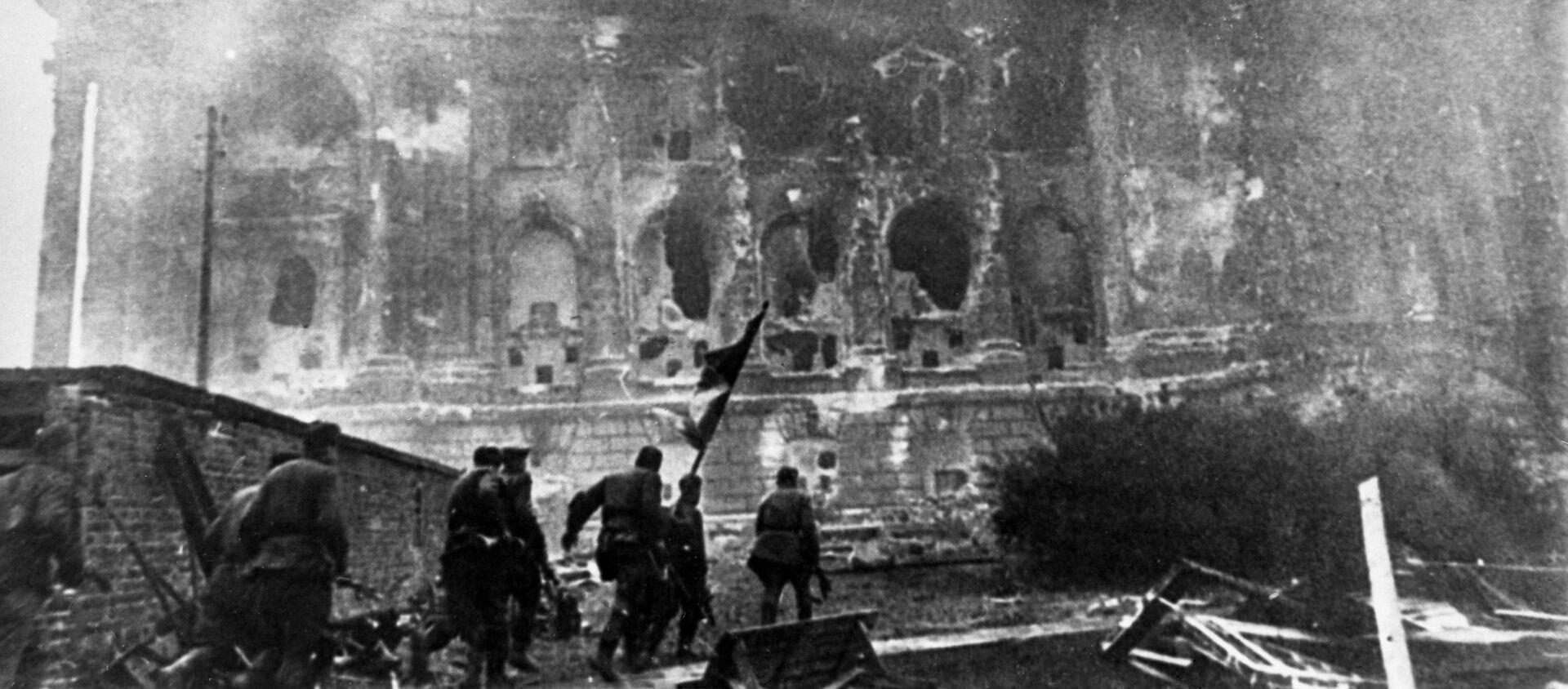 Штурм Рейхстага, 1945 год - Sputnik Արմենիա, 1920, 22.06.2021