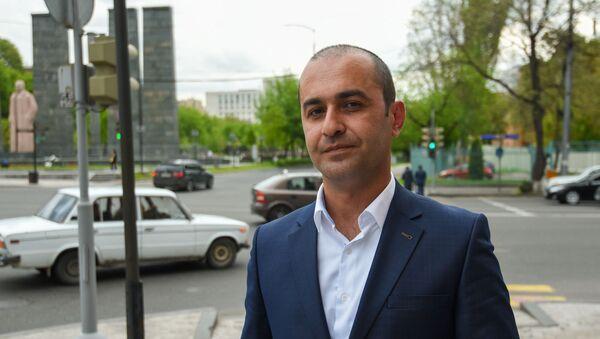 Адвокат Амрам Макинян - Sputnik Армения