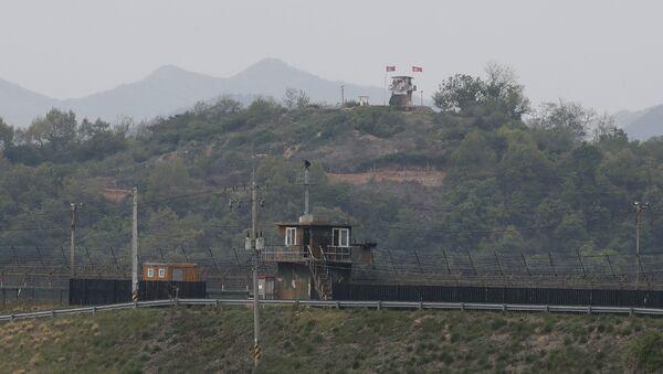 Граница между Северной Кореей и Южной Кореей - Sputnik Армения