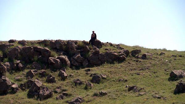 Миран Коч у руин Ани - Sputnik Армения